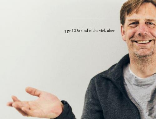 Worth a thought! Wat? 3gr CO2 sind nicht viel?